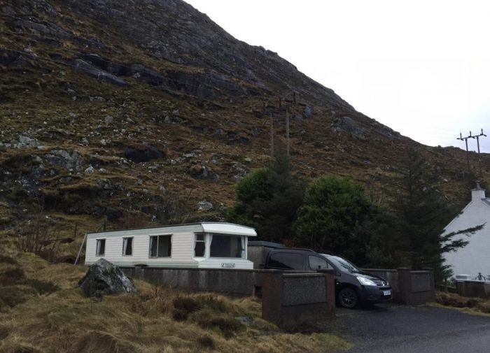 Camper RV Airbnb in Isle of Harris Scotland