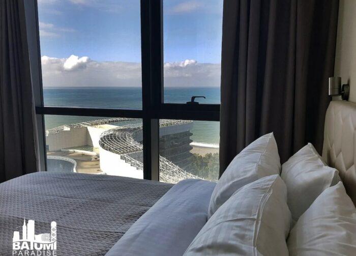 Dolphin View Beachfront Airbnb Apartment Batumi