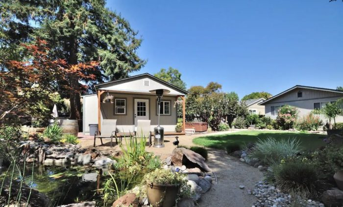 Home.fit Garden-Backyard-Guesthouse-in-Novato-CA-700x424 The Top 7 Best Airbnbs in Novato, California