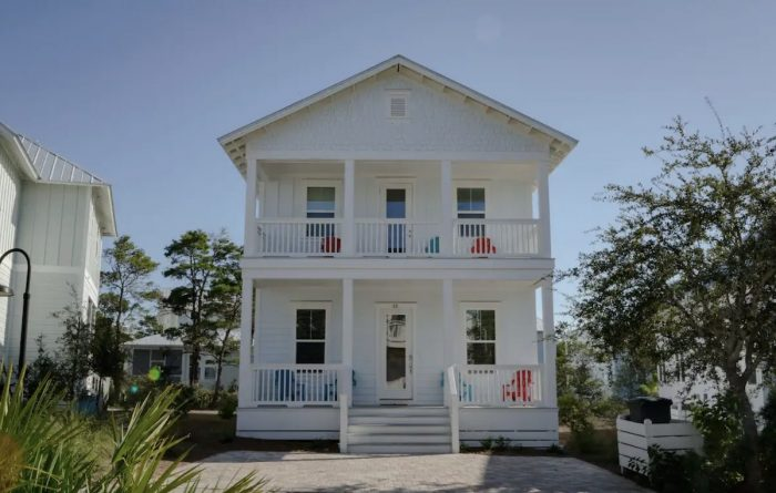 House for rent Airbnbs in Santa Rosa Beach Florida