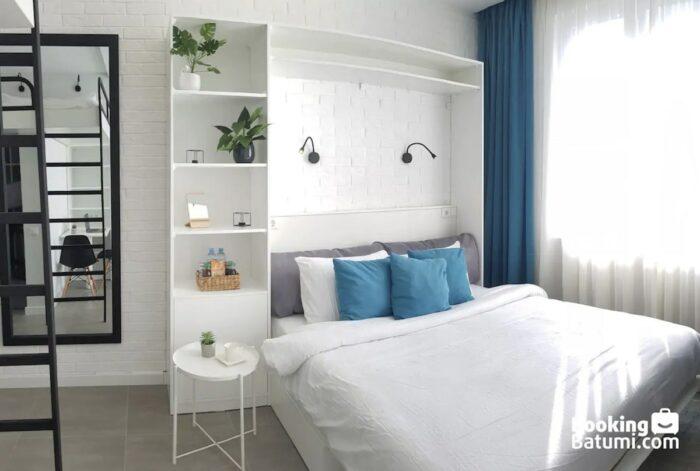 Lofted Batumi Studio Apartment 10 Minutes From the Beach