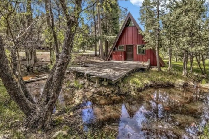 Home.fit Peaceful-A-frame-Airbnb-in-South-Lake-Tahoe-700x466 7 Best Airbnbs in South Lake Tahoe, California