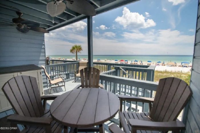 Pet-friendly townhouse Airbnb in Panama City Beach, Florida