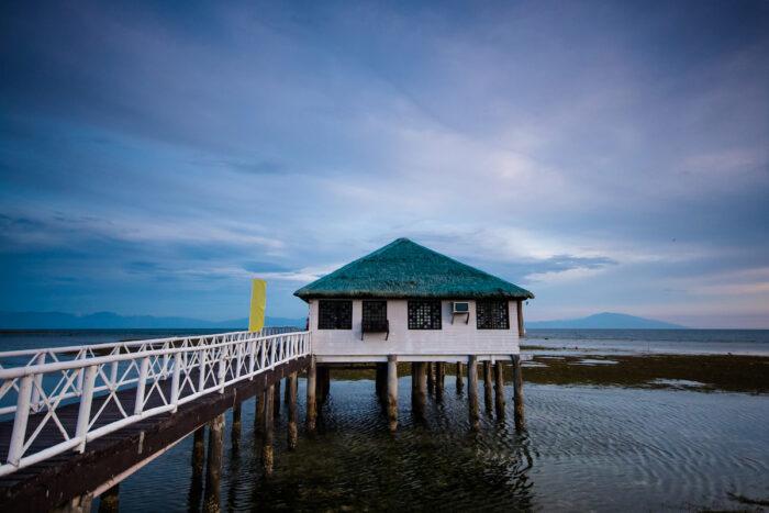 Relaxing beach house at Calatagan - Best Batangas Tourist Spots photo via Depositphotos