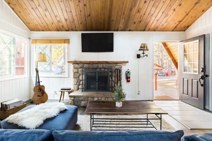 Ski Chalet-Inspired Airbnb Cabin in Big Bear Lake