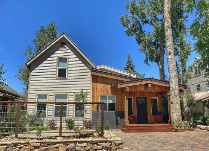Stay in a historic home in old town Steamboat Springs built 1907.