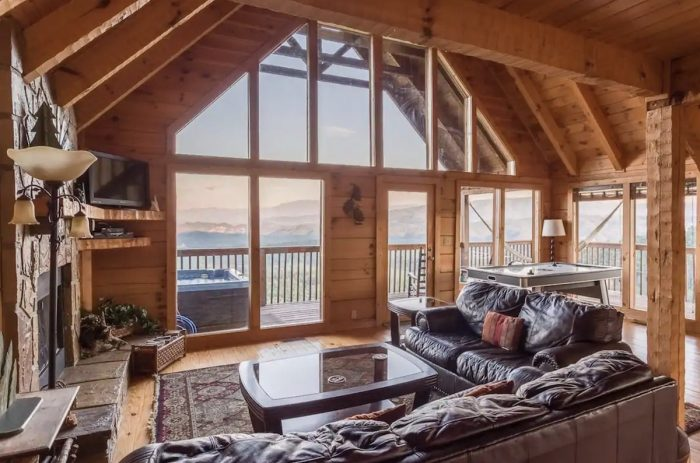 Airbnb Cabin in Sevierville, Tennessee