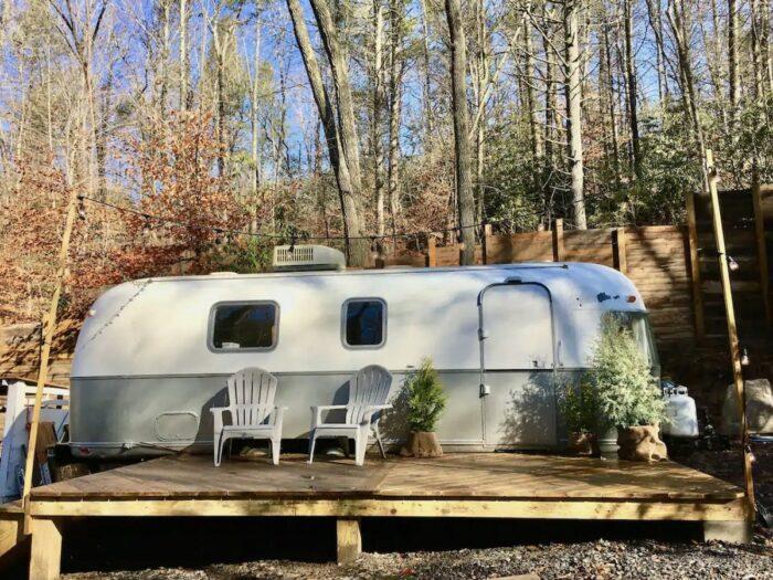 Camper RV Airbnb in Swannanoa NC