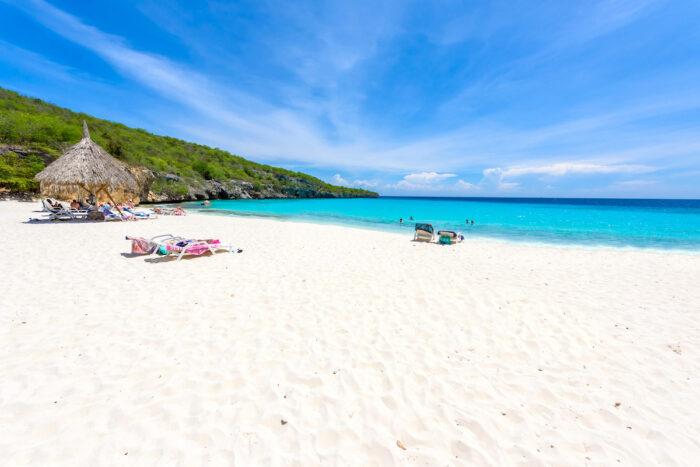 Cas Abao Beach in Curacao photo via Depositphotos