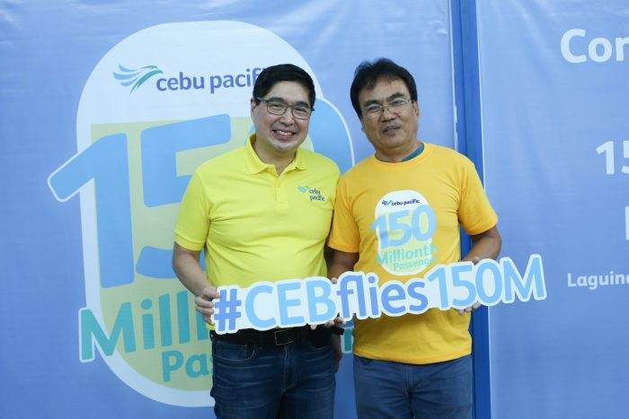 Home.fit Cebu-Pacific-150-millionth-guest-700x467 Cebu Pacific marks 25 years of making moments happen