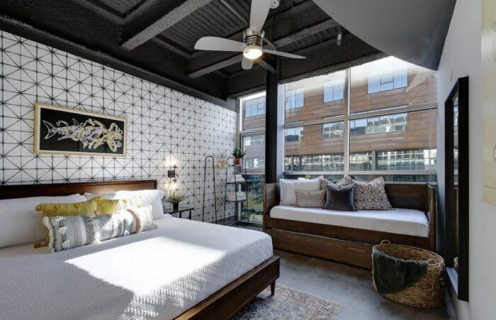 Chic Airbnb Downtown Austin TX Loft Just Steps Off 6th Street