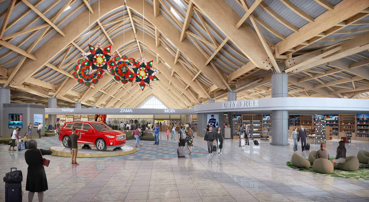 Clark New Terminal Building Commercial Area
