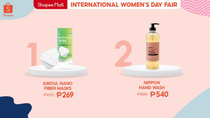 Home.fit Female-frontliner-700x394 10 Finds for Every Kind of Woman at the Shopee's International Women's Day Fair