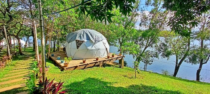 A Unique Dome Tent Experience at Lake Lumot