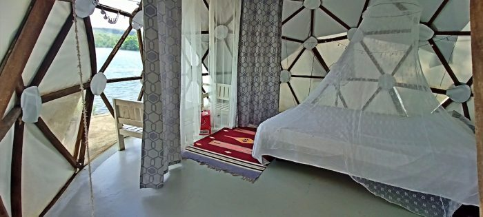 Home.fit Inside-Glamping-Etc-Geodesic-Domes-700x315 Nature Escape at Glamping, Etc. in Cavinti, Laguna