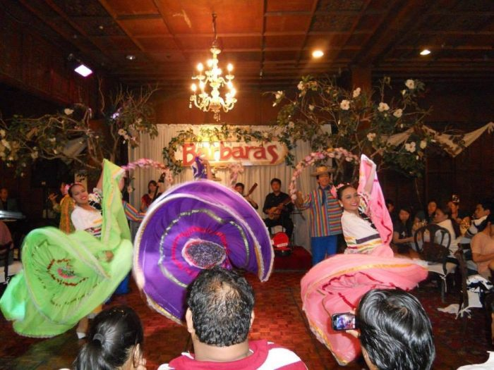 Kultura Filipina shows at Barbaras Restaurant photo via FB Page