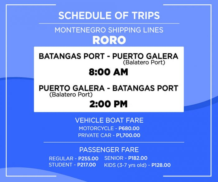 Home.fit Montenegro-Shippine-Lines-Roro-Schedule-Batangas-Puerto-Galera-Balatero-Port-700x583 2021 Puerto Galera Travel Guide in the New Normal