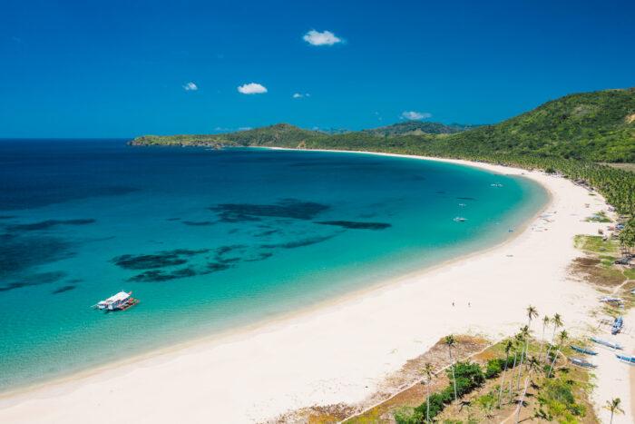El Nido's Nacpan Beach among TripAdvisor's Top Beaches in Asia for 2021 photo via Depositphotos