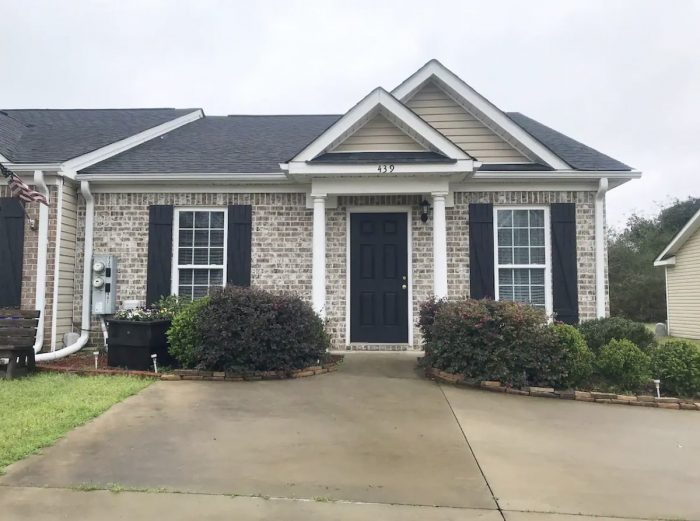 North Augusta Townhome Airbnb