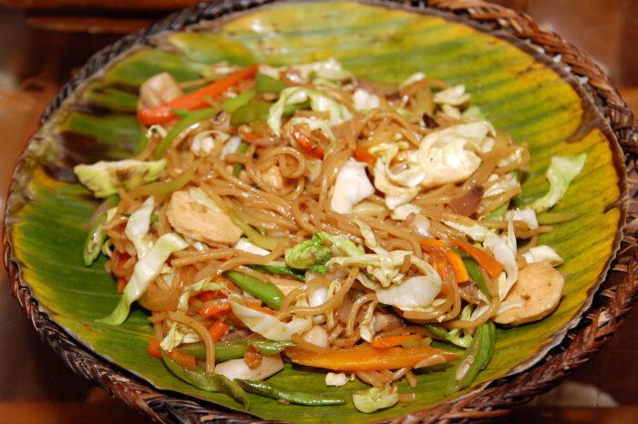 Pancit Lucban Quezon Province Food photo via Depositphotos