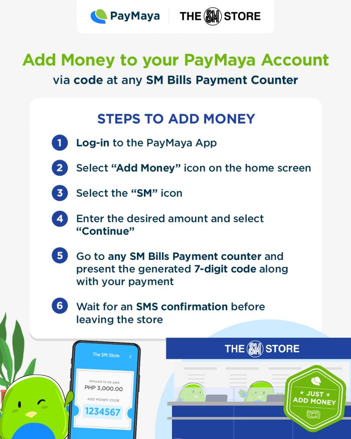 Home.fit PayMaya-SM-Add-Money-1-700x875 PayMaya expands its widest network of cashless touchpoints nationwide with The SM Store