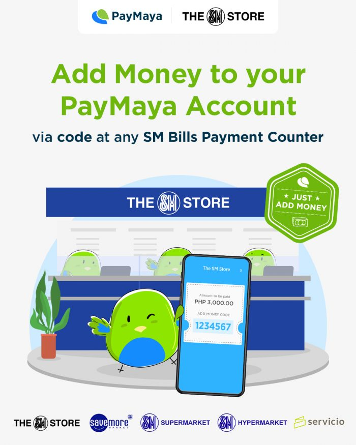 PayMaya-SM Add Money