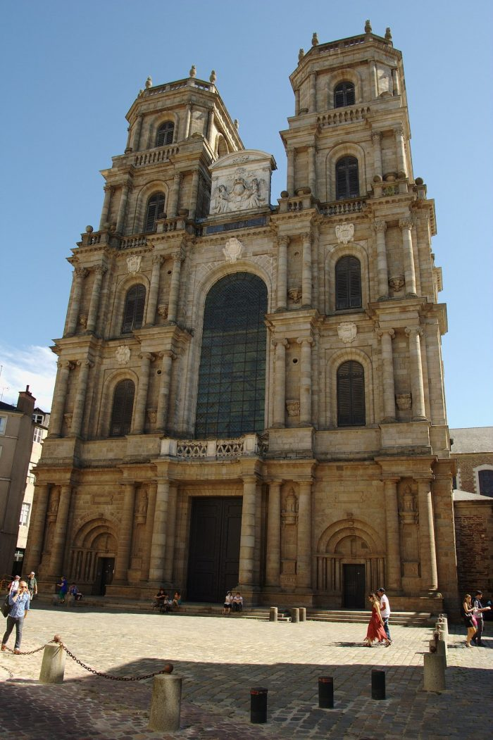 Rennes Cathedral by Pymouss via Wikipedia CC