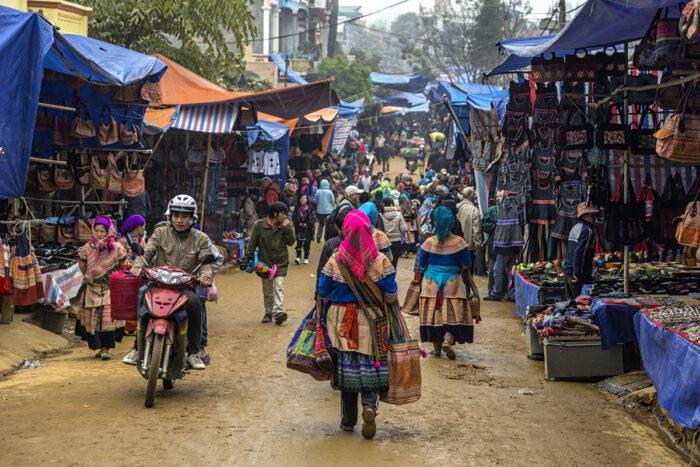 Sapa Market photo via Depositphotos