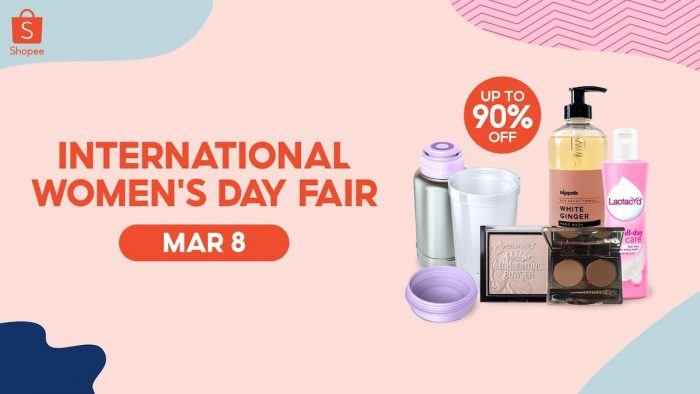 Shopee's International Women's Day Fair