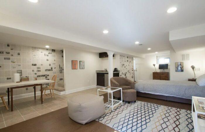 Spacious Airbnb studio in Washington DC