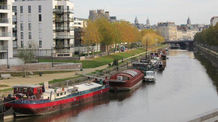 The Vilaine in Rennes by XllllfromTokyo via Wikipedia CC