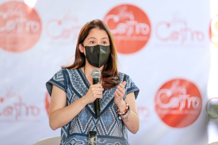 Tourism Secretary Bernadette Romulo-Puyat expresses her support for the reopening of PPC during her opening remarks