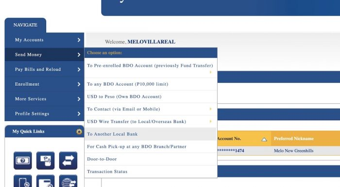Home.fit Transfer-Money-Online-from-BDO-to-Gcash-700x386 How to Transfer Money from BDO Online Banking to GCash