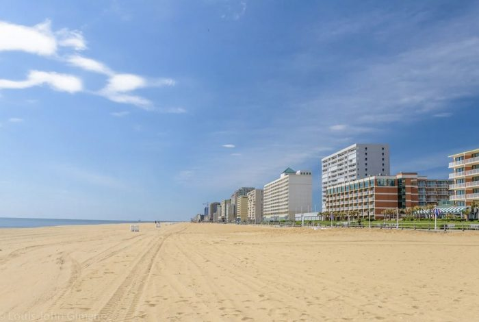 Virginia Beach Oceanfront Airbnb with Balcony and Pool
