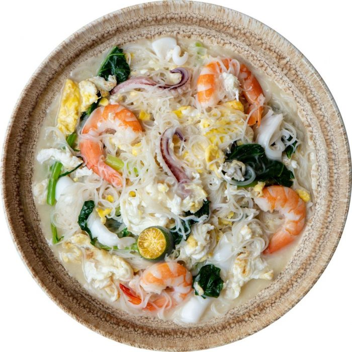 Akin to our very own Bihon, rice vermicelli is the centerpiece of this tasty dish which is usually served with many toppings: shrimp, pork, and veggies.