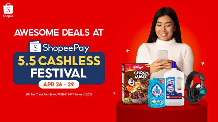 5.5 Shopee Cashless Fest
