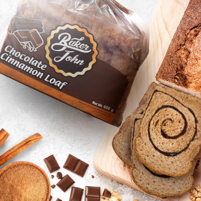 Baker John - Enjoy a flavorful bread experience with the new Baker John Chocolate Cinnamon Loaf