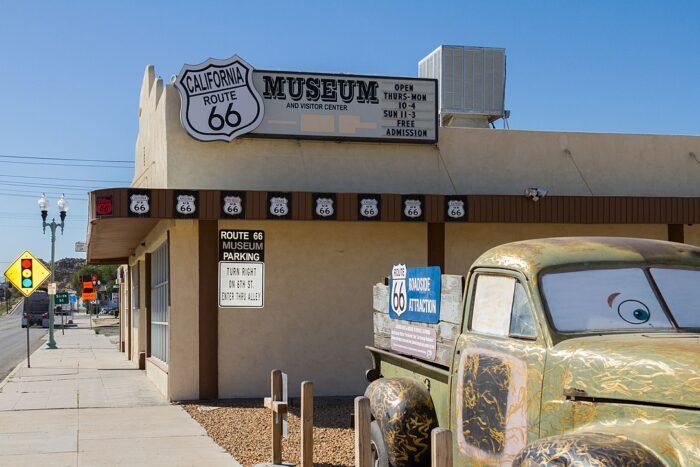 California Route 66 Museum photo by Sanfel via Wikipedia CC
