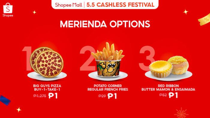 Cashless Fest Merienda