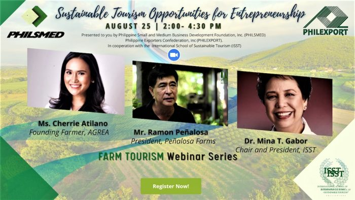 Home.fit Farm-Tourism-webinar-700x394 Advocating Sustainable Tourism amidst the Pandemic