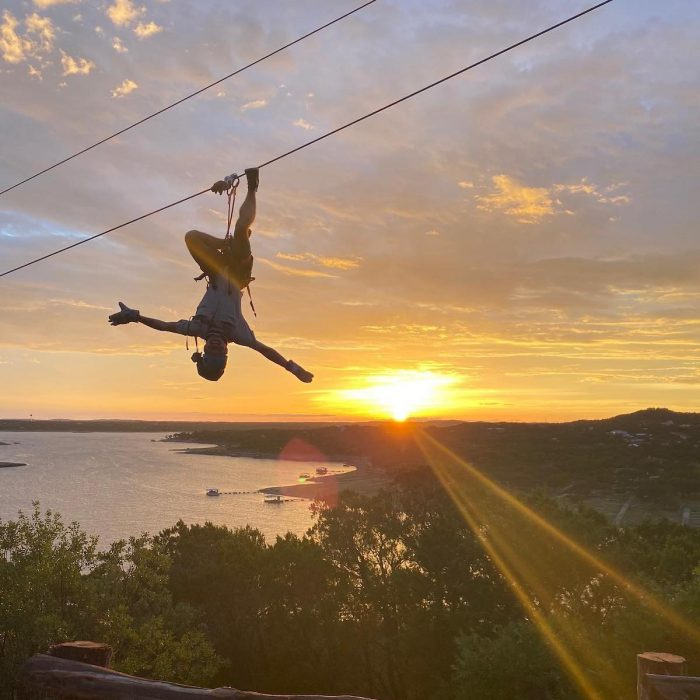 Lake Travis Zipline Adventures photo via FB Page