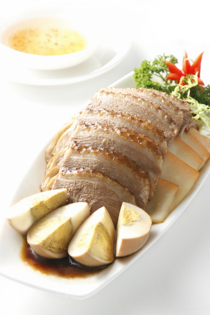 The brand is especially famous for Chiu Chow marinated goose classics, including Chiu Chow Assorted Soyed Platter