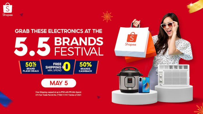 5.5 Shopee Brands Festival 2021