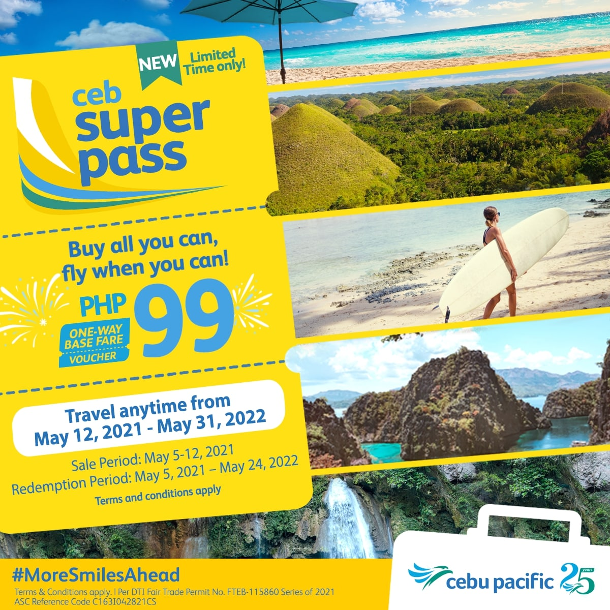 Buy all you can, fly when you can with the Cebu Pacific Super Pass