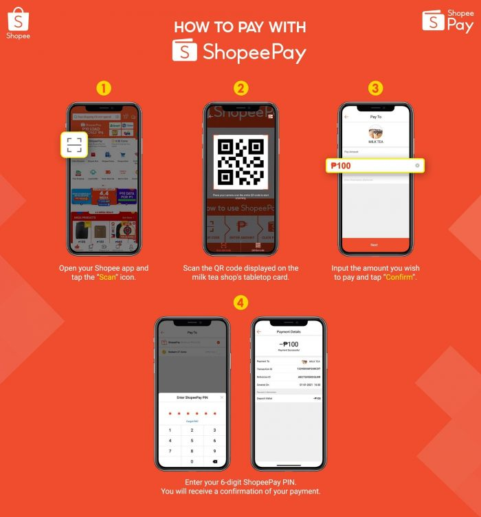 How to Pay with Shopee Pay
