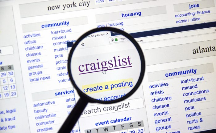 Most Common Craigslist Scams