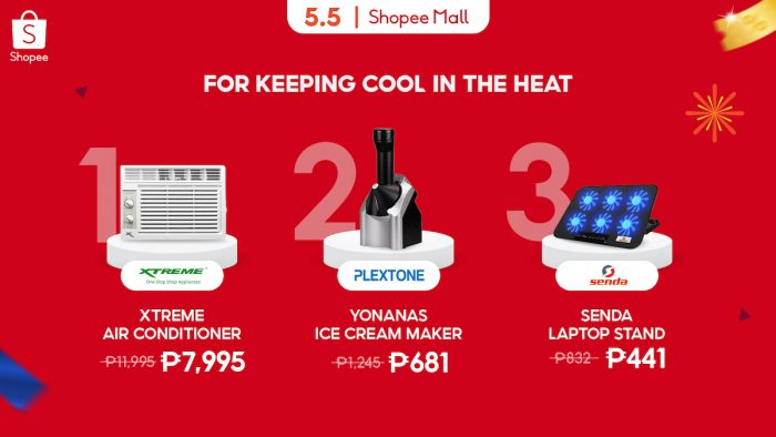 Shopee 5.5 Brands Festival Keeping Cool