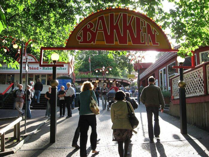 Bakken Amusement Park photo by Erkan via Wikipedia CC