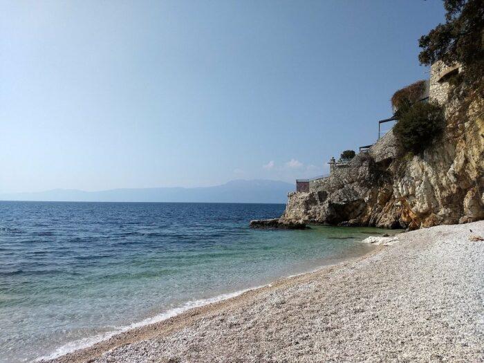 Beach in Rijeka