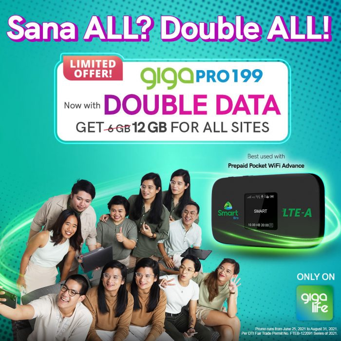Double Data for Pocket WiFi
